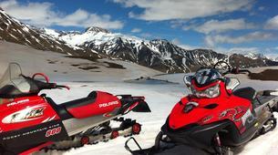 Motoneige-Aneto-Snowmobile excursions in Cerler near Aneto-6