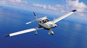 Vols Panoramiques-Tahiti-Initiation au pilotage d'avion à Tahiti-3