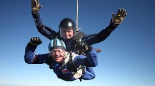 Skydiving-Hull-Tandem skydive over Hibaldstow near Hull-6