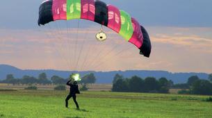 Parachutisme-Stuttgart-Tandem skydive over Schwabisch Hall near Stuttgart-9