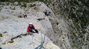 Rock climbing-Ariege-Guided multi-pitch climbing in the Ax Valley, Ariege-3