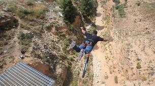 Bungee Jumping-Alicante-Rope swinging in Villena (35m) near Alicante-1