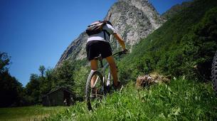 Mountain bike-Ariege-Mountain biking initiation in Orlu, Ariege-1