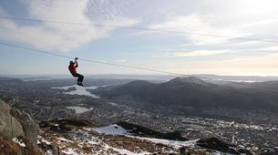 Zip-Lining-Bergen-Zip-lining from Mt. Ulriken in Bergen-3