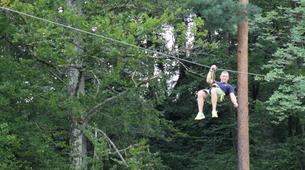 Tyrolienne-Bled-Zipline over the Sava river in Bled, Slovenia-3