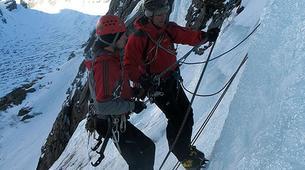 Ice Climbing-Großglockner-Intermediate ice climbing course in Tauer near Lienz-6