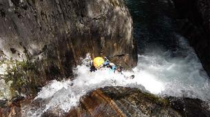 Canyoning-Ariege-Marc Canyon in the Vicdessos valley, Ariege-5