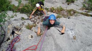 Rock climbing-Ariege-Guided multi-pitch climbing in the Ax Valley, Ariege-5