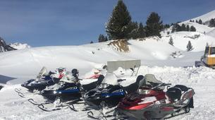 Motoneige-Aneto-Snowmobile excursions in Cerler near Aneto-2