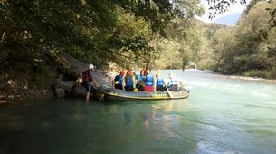 Rafting-Bled-Rafting down the Sava River in Bled, Slovenia-3