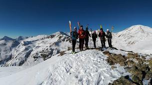Ski Hors-piste-Núria-Ski touring in Vallter 2000 near Nuria-1