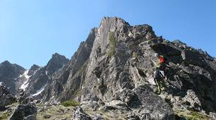 Alpinisme-Ariege-Initiation Alpinisme à l'Arrête des Gentianes, Ariège-4