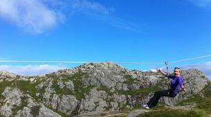 Zip-Lining-Bergen-Zip-lining from Mt. Ulriken in Bergen-6