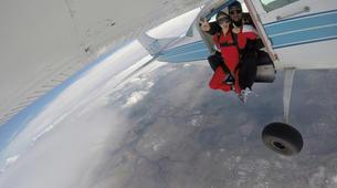 Parachutisme-Stuttgart-Tandem skydive over Schwabisch Hall near Stuttgart-13