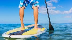 Stand up Paddle-Santorini-Stand Up Paddle rental on Perivolos Beach, Santorini-3