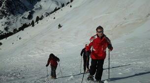 Raquette à Neige-Núria-Snowshoeing excursion in Vallter near Nuria-5