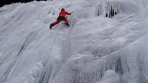 Ice Climbing-Großglockner-Intermediate ice climbing course in Tauer near Lienz-5