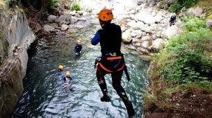Canyoning-Ariege-Marc Canyon in the Vicdessos valley, Ariege-2