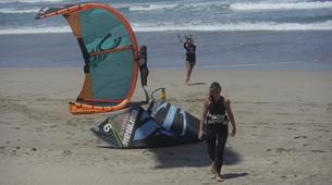Kitesurfing-Caleta de Famara, Lanzarote-Private kitesurfing courses on Famara beach, Caleta de Famara-1