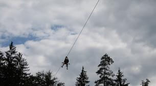 Zip-Lining-Bled-Zipline over the Sava river in Bled, Slovenia-4