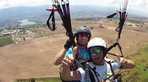 Paragliding-Calabria-Tandem paragliding in Bagnara Calabra-4