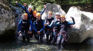 Canyoning-Ariege-Marc Canyon in the Vicdessos valley, Ariege-4