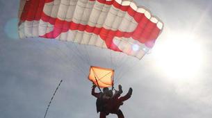 Parachutisme-Stuttgart-Tandem skydive over Schwabisch Hall near Stuttgart-11