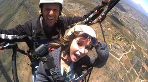 Paragliding-Hermanus-Tandem paragliding flight over Hermanus near Cape Town-2