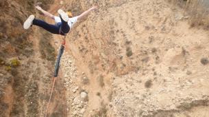 Bungee Jumping-Alicante-Rope swinging in Villena (35m) near Alicante-4
