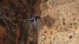 Bungee Jumping-Alicante-Rope swinging in Villena (35m) near Alicante-3