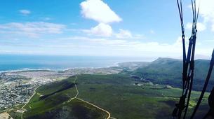 Paragliding-Hermanus-Tandem paragliding flight over Hermanus near Cape Town-3
