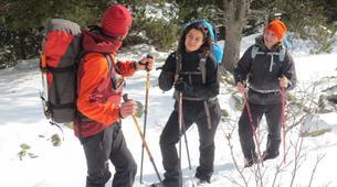 Raquette à Neige-Núria-Snowshoeing excursion in Vallter near Nuria-1