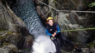 Canyoning-Ariege-Marc Canyon in the Vicdessos valley, Ariege-3