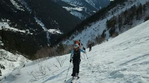 Ski Hors-piste-Núria-Ski touring in Vallter 2000 near Nuria-2