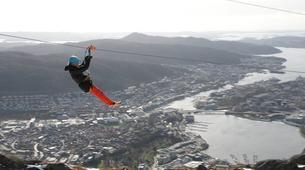 Zip-Lining-Bergen-Zip-lining from Mt. Ulriken in Bergen-2