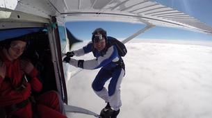 Parachutisme-Stuttgart-Tandem skydive over Schwabisch Hall near Stuttgart-5