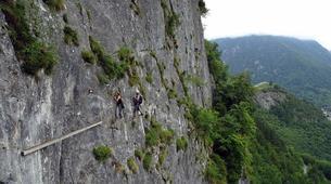 Via Ferrata-Ariege-Via Ferrata du Vicdessos en Ariège-6