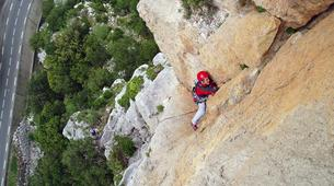 Rock climbing-Ariege-Guided multi-pitch climbing in the Ax Valley, Ariege-4