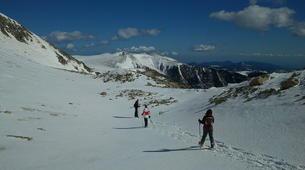 Raquette à Neige-Núria-Snowshoeing excursion in Vallter near Nuria-6