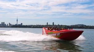 Jet Boating-Auckland-Waitemata Harbour jet boat excursion, Auckland-6