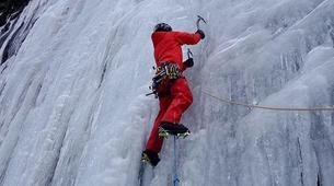 Ice Climbing-Großglockner-Intermediate ice climbing course in Tauer near Lienz-4