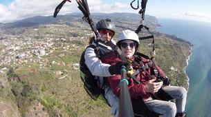 Paragliding-Calabria-Tandem paragliding in Bagnara Calabra-1
