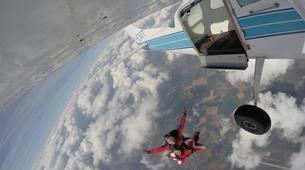 Skydiving-Stuttgart-Tandem skydive over Schwabisch Hall near Stuttgart-6