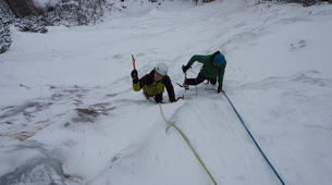 Ice Climbing-Lienz-Ice climbing initiation in Tauer near Lienz-4