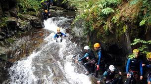 Canyoning-Ariege-Marc Canyon in the Vicdessos valley, Ariege-1