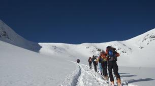Ski Hors-piste-Núria-Ski touring in Vallter 2000 near Nuria-4