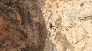 Bungee Jumping-Alicante-Rope swinging in Villena (35m) near Alicante-6