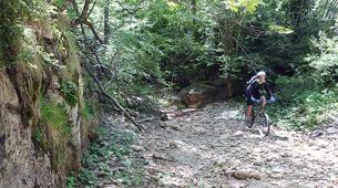 Mountain bike-Ariege-Mountain biking initiation in Orlu, Ariege-4
