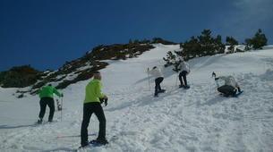Raquette à Neige-Núria-Snowshoeing excursion in Vallter near Nuria-2