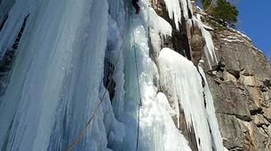 Ice Climbing-Großglockner-Advanced ice climbing course in Tauer near Lienz-2